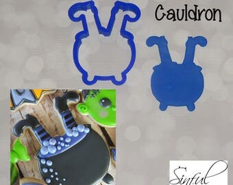 Witch Cauldron Cookie Cutter