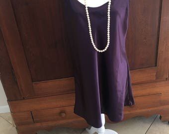 L / Gilligan and O'Malley / Chemise / Purple / Slip Dress / Large