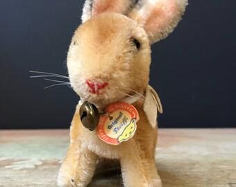 Vintage Steiff Sonny rabbit with original tag