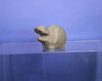 Tiny Hippo Piggy Bank | 3D Printed