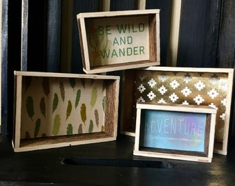 Small nesting boxes
