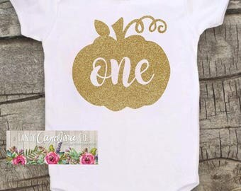 1st Birthday Pumpkin Outfit - Pumpkin 1st Birthday - 1st Birthday Pumpkin Onesie® - Pumpkin Onesie®  -1st Birthday Pumpkin