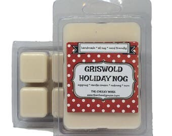 Eggnog Wax Melts, Christmas Wax Melts, Griswold, Christmas Vacation, Scented Melts, Holiday Nog, Holiday Wax Melts, Soy Melts, Soy Tarts