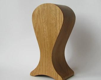 The best headphones friendly Wooden stand of oak