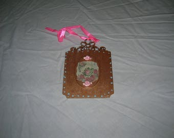 Arts and Crafts style decorative plaque