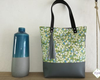 Green Onyx Mitsi collection tote bag