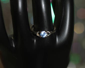 Light Blue Stone Ring Size: 5