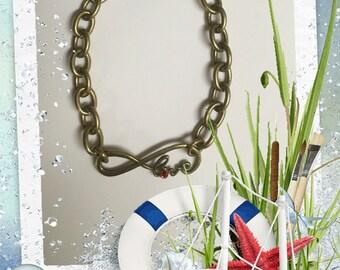 Brass Love Bracelet
