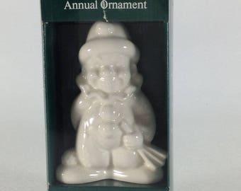 Vintage Goebel Ornament Clown 1983