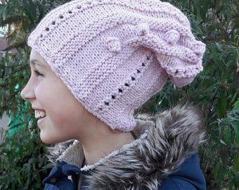 Hip beanie hat in soft alpaca!