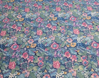 Flower Cotton Fabric Designed by Joan Kessler for Concord Fabrics