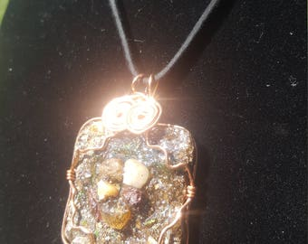 Woman's WOR (Water.Over.Rocks.) Necklace #2