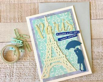 Paris // A7 Greeting Card