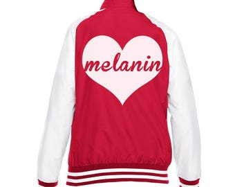 Melanin Love Team Jackets  Women's Clothing