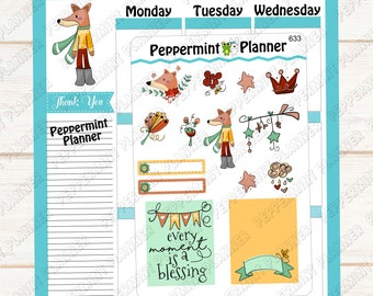 Every Moment Is a Blessing --- Planner Stickers --- 633