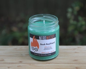 Book Boyfriend - Summer Reading Candle - Coconut Lime Scent