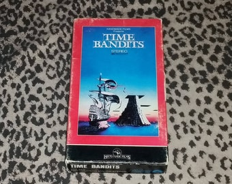 Time Bandits [VHS] Vintage Terry Gilliam Cult Classic Time Travel Film Cultural Satire Vintage 80s VHS Tape Collector Copy Handmade Films