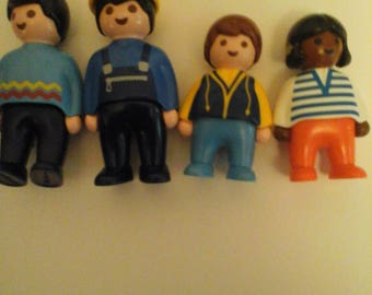 4 Playmobil People