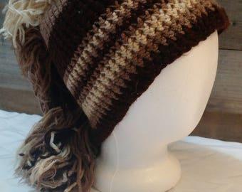 Wild Horse Crochet Hat