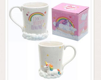 Unicorn Tableware Themed Mug