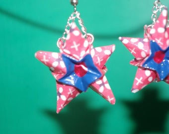 """Stars"" (ET_006) earrings"