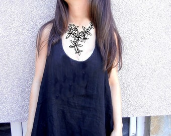 Batucada France Eco Friendly Jewelry | Tatto Necklace | Floral Necklace