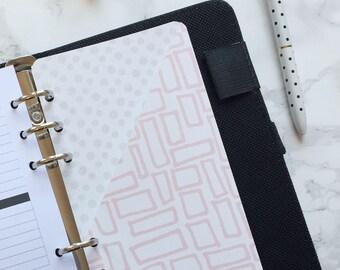 Pink Doodles Pocket Folder | Planner Pocket | Pocket Divider | Pocket Dashboard - Personal Size
