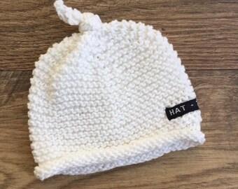 Baby beanie, newborn, baby knit hat, baby hat, baby gift, pure cotton, cotton baby hat, newborn hat