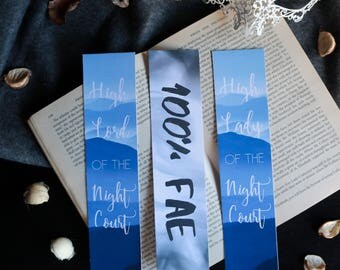 Printed bookmarks | ACOMAF inspired