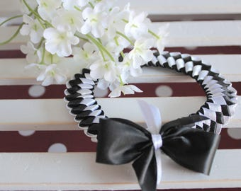 BUY 2 GET 1 FREE Headband for Newborn | Black and White Headband | Satin Headband | Unique Headband