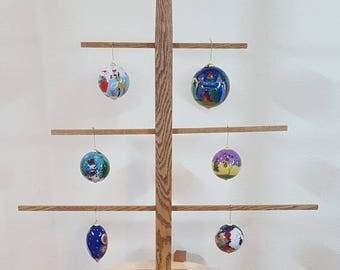 Oak Ornament Display Tree