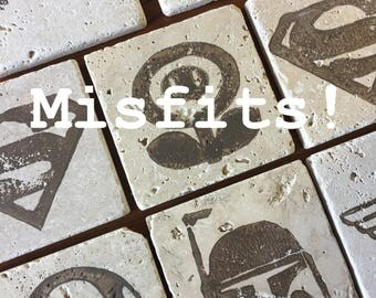 Misfit Coasters • Add-On Only
