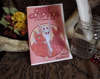 Cute Cryptids - Colouring Booklet