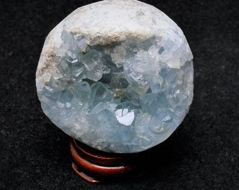 Spectacular Blue Celestite Egg Cluster, Natural Celestine Cluster, Natural Raw Celestite Egg, Third Eye, Throat Chakra, Large Celestite