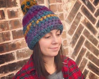 Crochet Wool Hat
