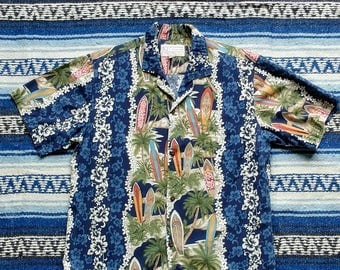 Vintage Hawaiian Shirt - Small