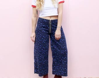 DESERT FOX Starry Eyed Wide Leg O Ring Trousers