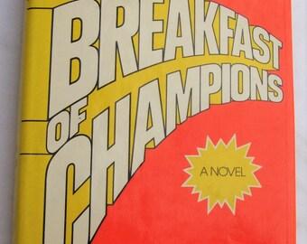 Kurt Vonnegut, Jr. Breakfast of Champions First Edition Fifth Printing 1973