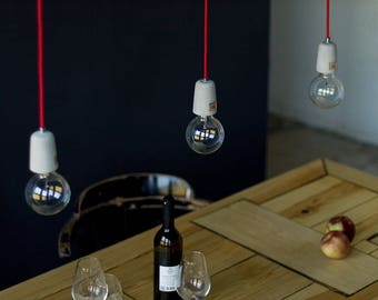 Pendant lamp, hanging lamp, concrete, Litbase