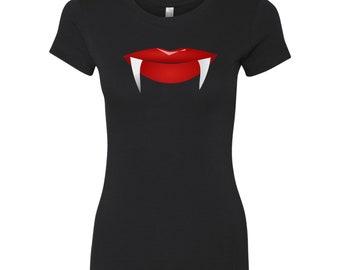 Vampire Lips Women's T-Shirt