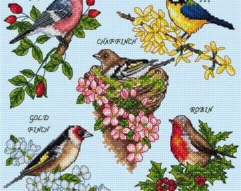 AJBD Bundle 3, 4 Cross Stitch Charts available on a USB with key chain