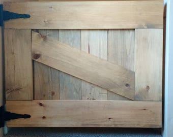 """Barn door gate, pet gate, half door- Up to 36""""x30"""" size"""