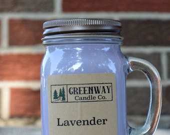 Lavender Scented Candle 16 oz