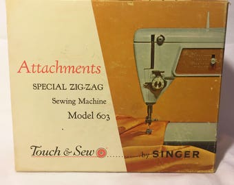 Attachments for Singer 603 Touch & Sew