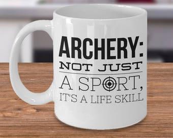 Archery Mug | Archery Coffee Mug | Archery Girl | Archery Quotes | Archery Mugs | Archery Gifts | Archery Ideas | Archery Gifts  Archery Mom