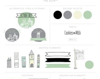 Brand Kit - Logo Branding Kit - Premade Logos - Branding Kit - Marketing Package