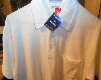 Vintage 80's Shirt   by JACK NICKLAUS   Medium   Never Worn,  Still With Tags On It