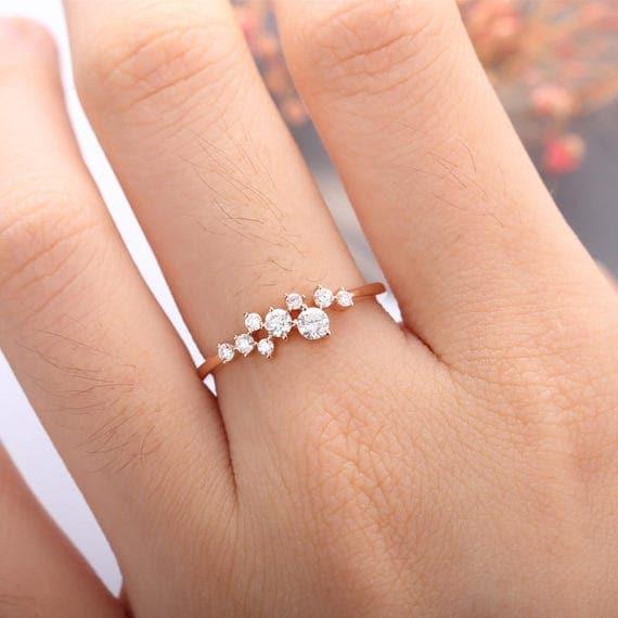 like this item - Flower Wedding Ring