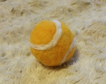 Newborn Tennsi Ball - Felted Tennis Ball - Tennis Photo Prop - Sports Photo Prop