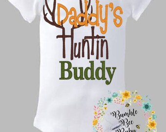 Daddy's Hunting Buddy, Perfect For Daddy's Little Man (Can Customize for Girl as Well)